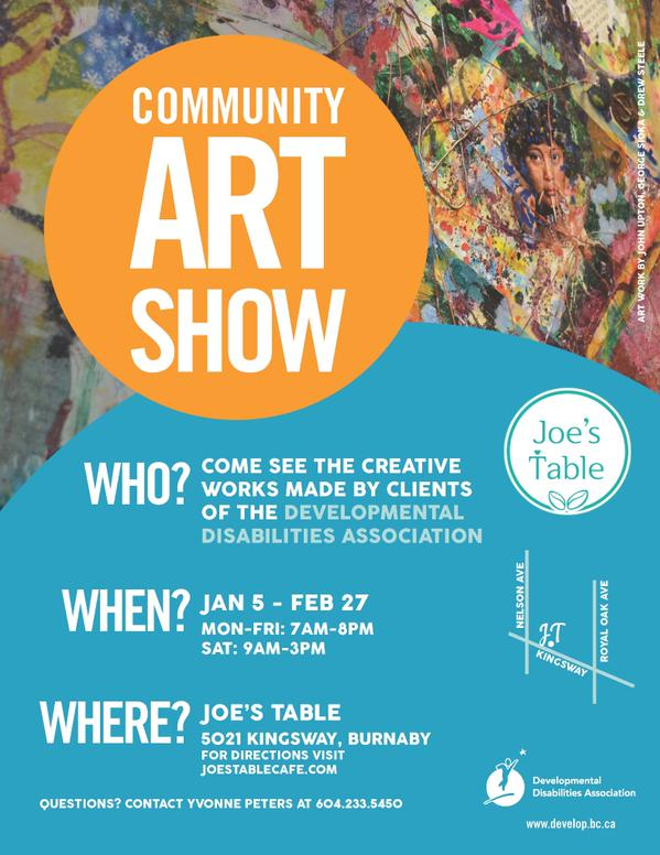 DDA  New Year Community Art Show