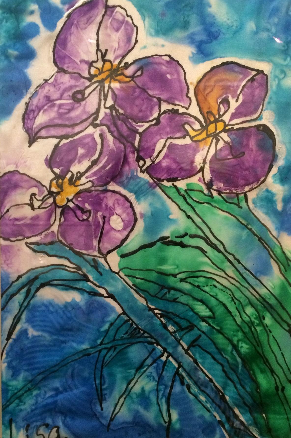 Iris - Lisa Poon